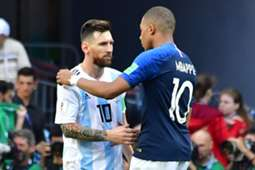 Messi Mbappé Francia Argentina