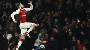 Aaron RamseyPierre-Emerick Aubameyang Arsenal Everton
