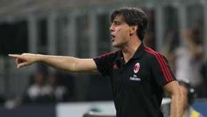 Vincenzo Montella AC Milan Europa League