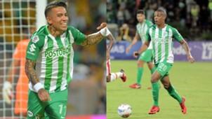 Dayro Moreno Jeison Lucumí Atlético Nacional 2018