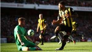 Bernd Leno Arsenal Watford