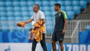 Tite Thiago Silva Brasil I Copa do Mundo I 01 07 18