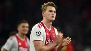 Matthijs De Ligt Ajax Amsterdam Champions League