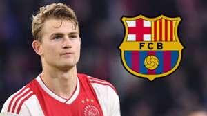 Matthijs de Ligt Ajax Barcelona