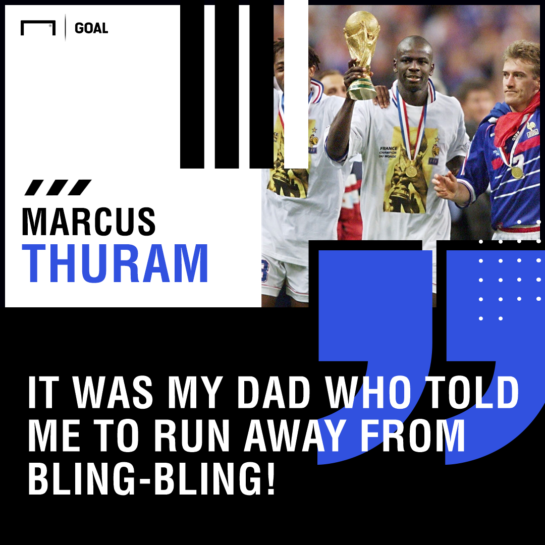Marcus Thuram run away bling