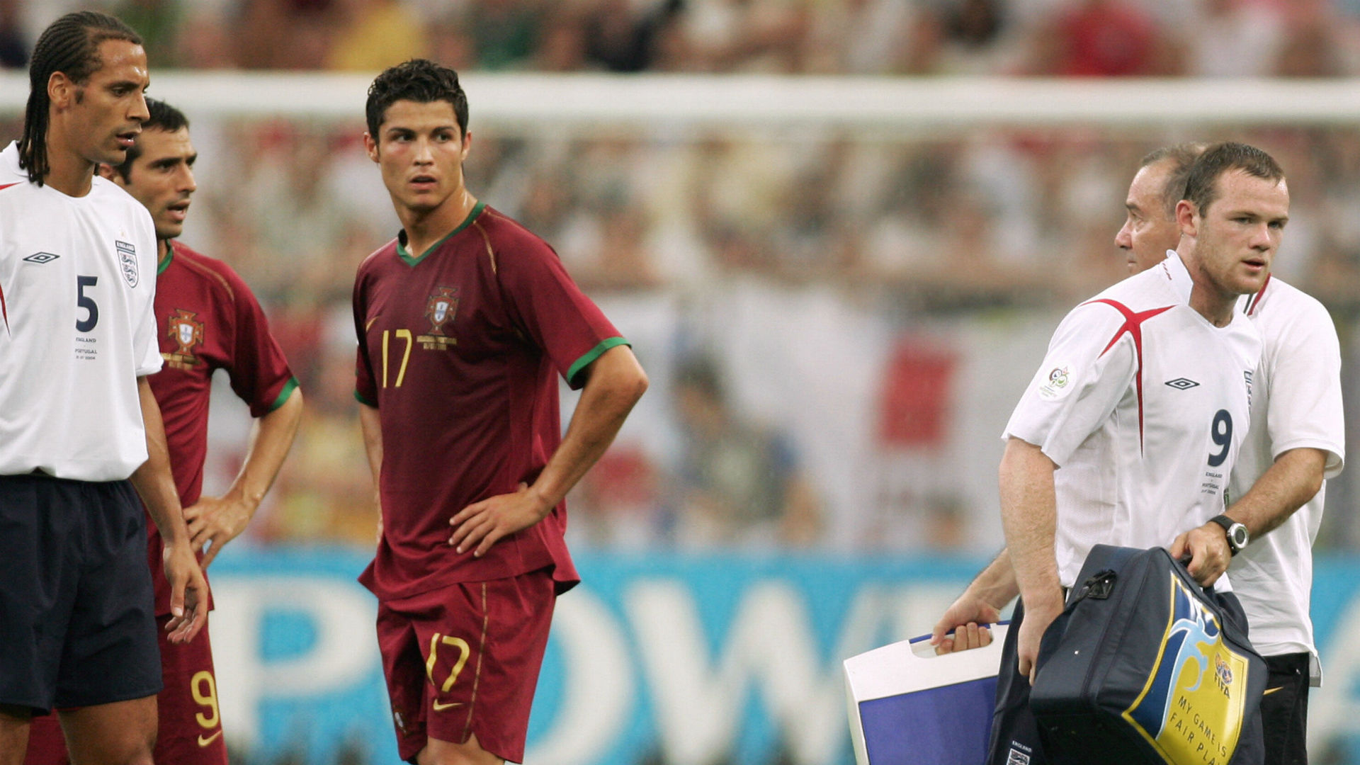 Cristiano Ronaldos History At The World Cup 2006 Debut 2014