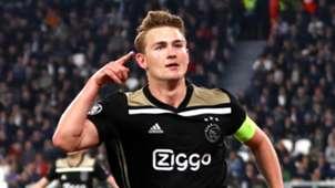 Matthijs de Ligt Ajax 2018-19