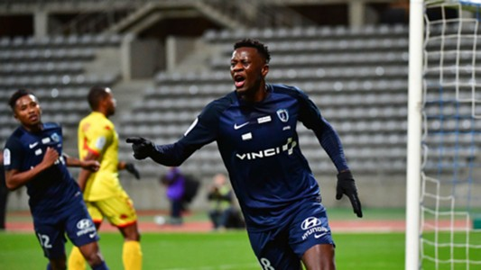 Malik Tchokounté Paris FC Ligue 2