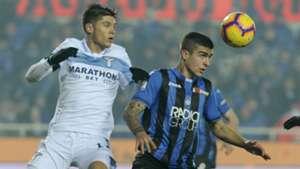 Joaquin Correa Gianluca Mancini Atalanta Lazio Serie A