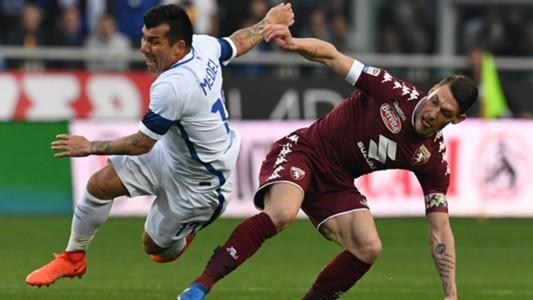 Gary Medel Andrea Belotti Torino Inter Serie A 18032017