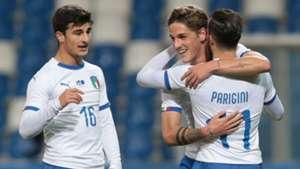 Italy U21 celeb Germany U21