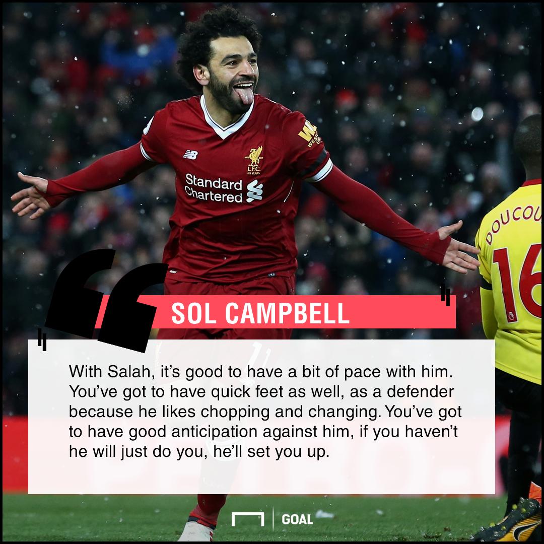 Record-breaker Salah hits four as Liverpool crush Watford