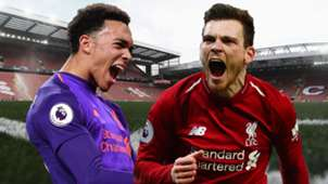 Trent Alexander-Arnold Andy Robertson Liverpool
