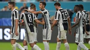 Juventus celebrates Marchisio goal against PSG ICC 2017