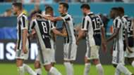 Juventus celebrates Marchisio goal against PSG ICC 2017