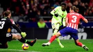 Ousmane Dembele Atletico de Madrid Barcelona LaLiga 24112018
