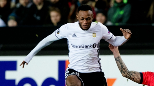 Samuel Adegbenro scores as Rosenborg bow to Salzburg