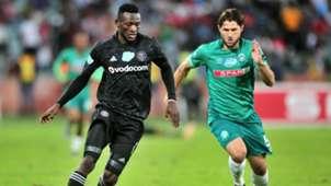 Augustine Mulenga, Orlando Pirates & Marc Van Heerden, AmaZulu FC, November 2018