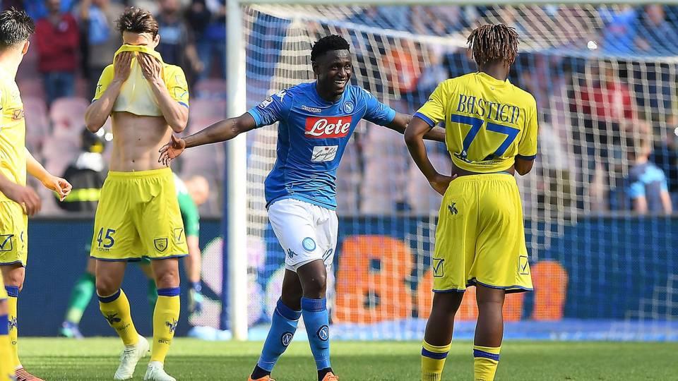 Napoli will keep fighting for Scudetto, says Amadou Diawara