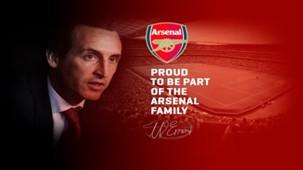 Unai Emery Arsenal SS NO HP