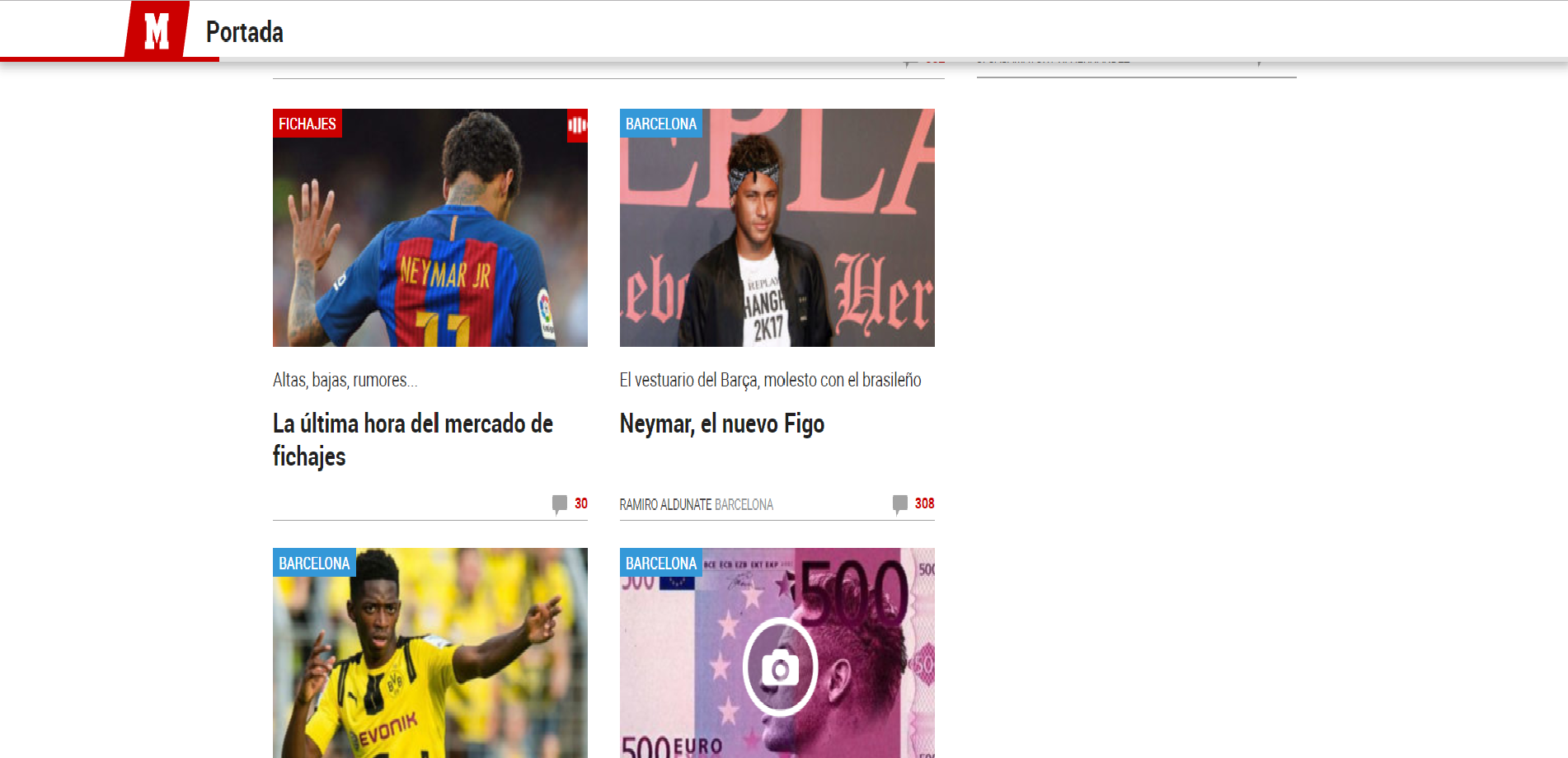 Print Marca header