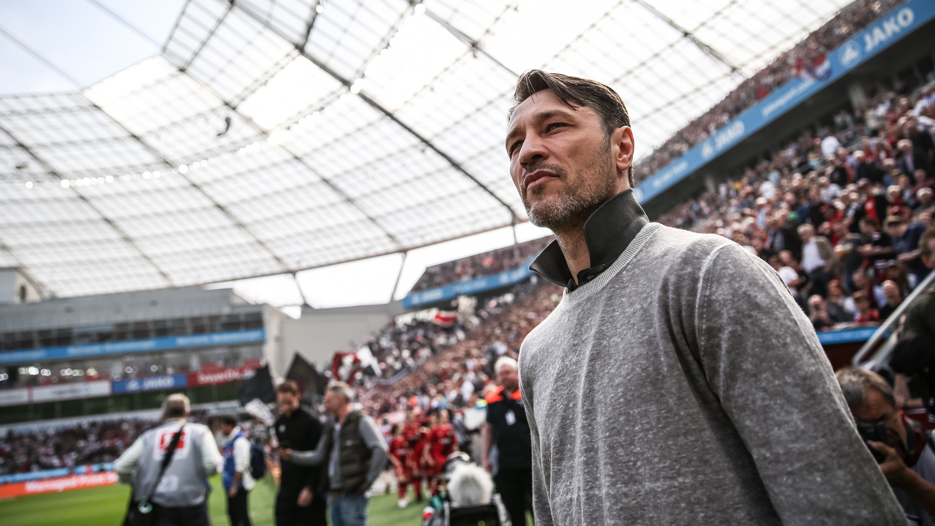 Niko Kovac Eintracht Frankfurt Bundesliga 14042018