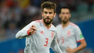Pique Espanha Copa do Mundo 18 06 2018