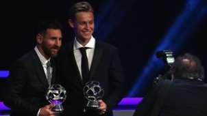 Lionel Messi Frenkie de Jong 08292019