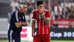ONLY GERMANY Carlo Ancelotti James Rodriguez Bayern Munchen