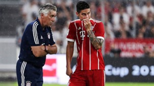 ONLY GERMANY Carlo Ancelotti James Rodriguez Bayern Munchen