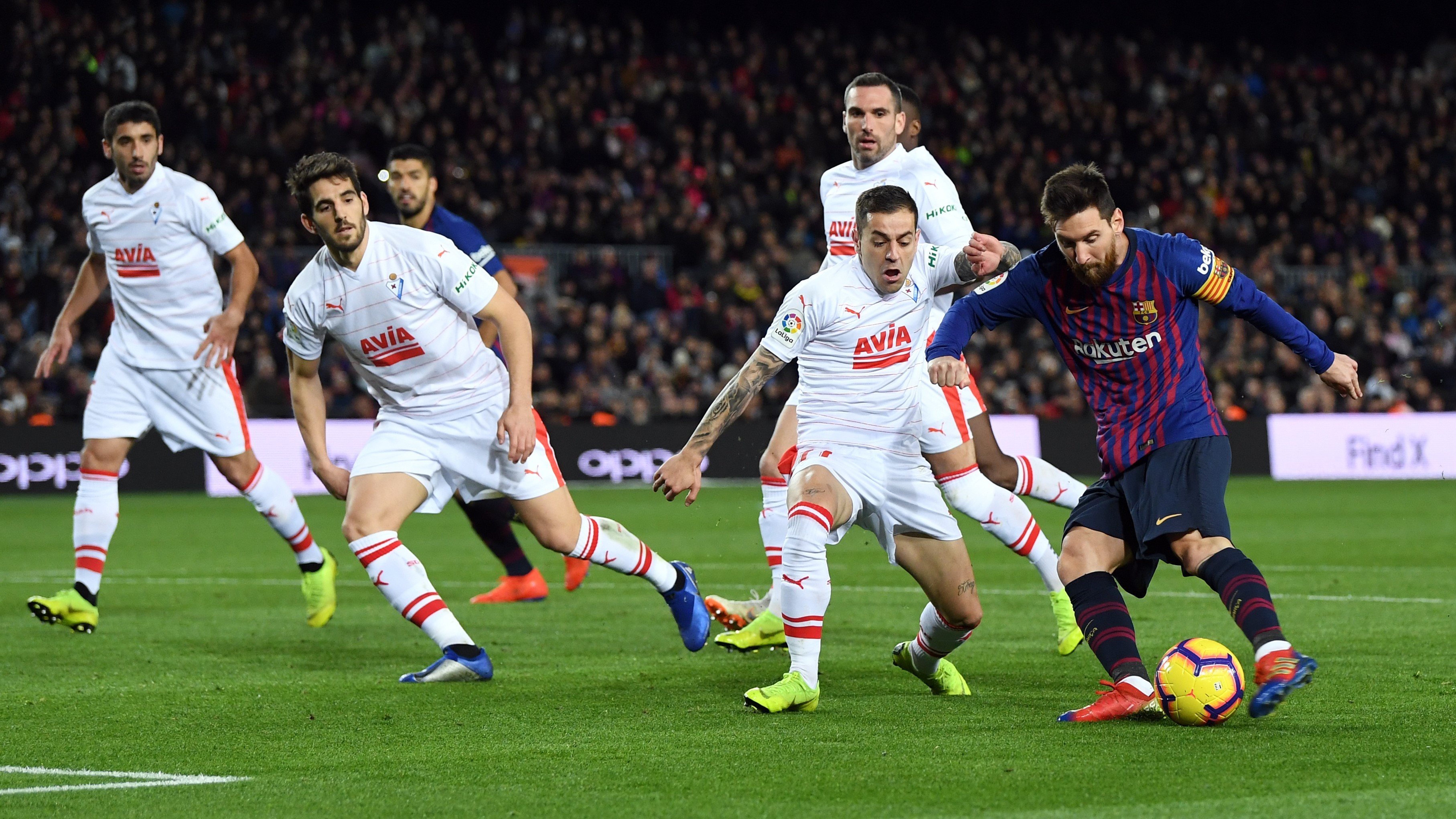 Lionel Messi Barcelona Eibar LaLiga 13012019