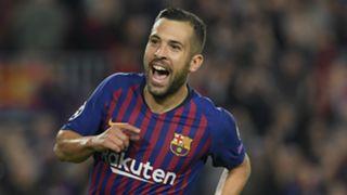 Jordi Alba Barcelona 2018-19