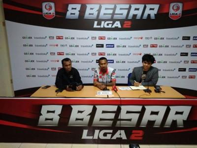 Konferensi Pers Liga 2 Persis Solo vs Martapura FC