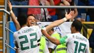 Javier Hernandez Chicharito Mexico Hirving Lozano Andres Guardado