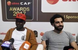 Salah Mane CAF Awards 2017