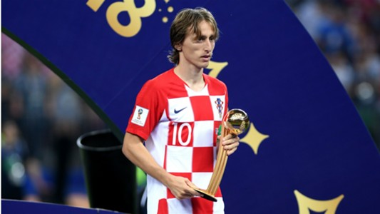 Luka Modric Golden Ball World cup russia 15072018