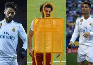 Am Samstag ist es endlich so weit: Champions-League-Finale, Real Madrid gegen Liverpool. Goal zeigt die 15 wertvollsten Stars im Endspiel von Kiew. (Quelle: transfermarkt.de)