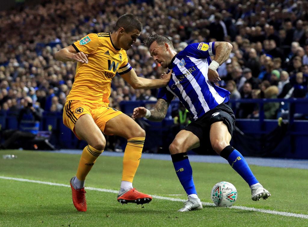 Steven Fletcher Sheffield Wednesday vs Wolves Carabao Cup