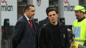 Massimiliano Mirabelli Vincenzo Montella Milan Roma Serie A 07052017