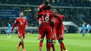 Bayern Munich Hoffenheim Bundesliga 18012019