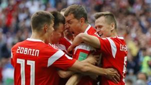 Russia celebrate 2018