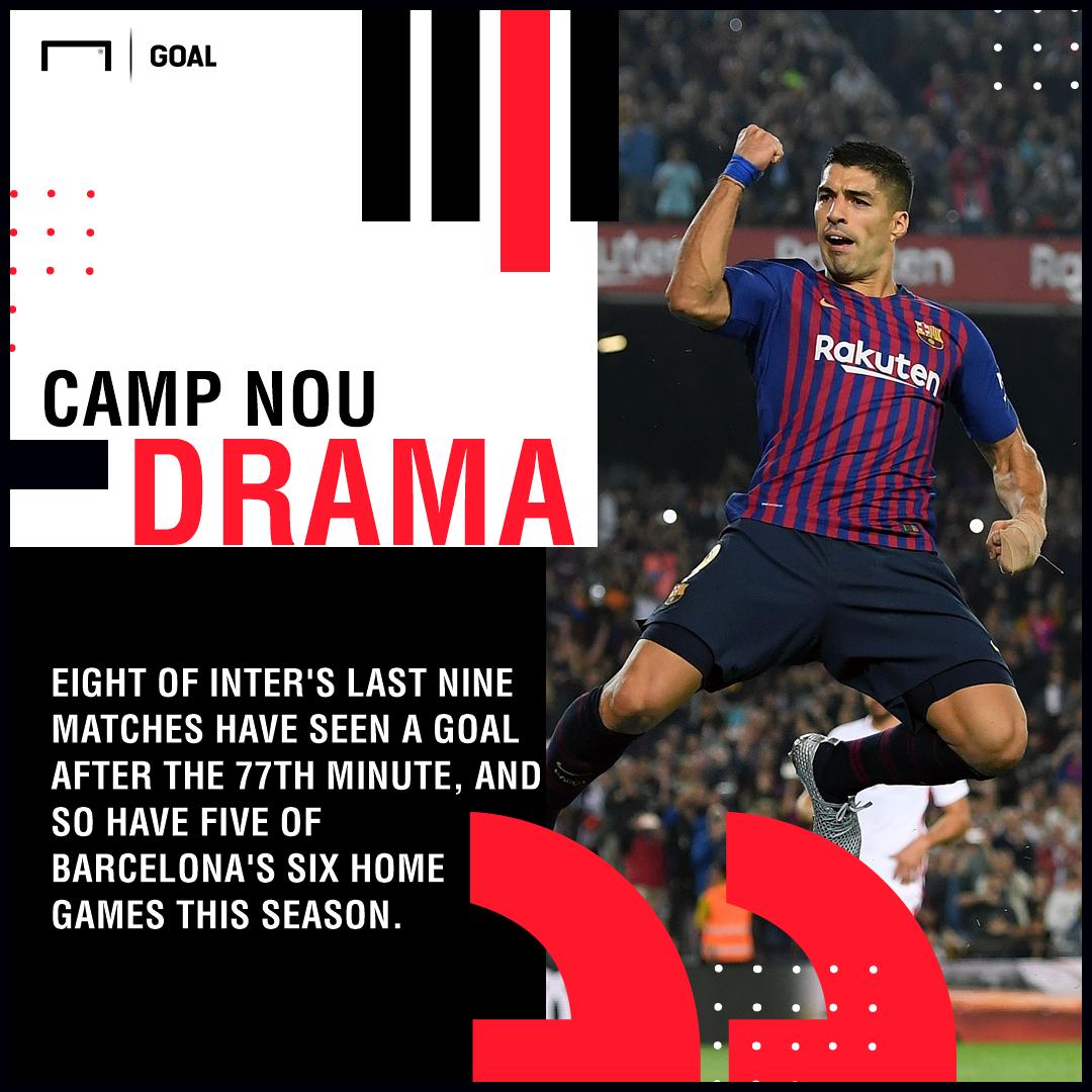 Barcelona Inter graphic