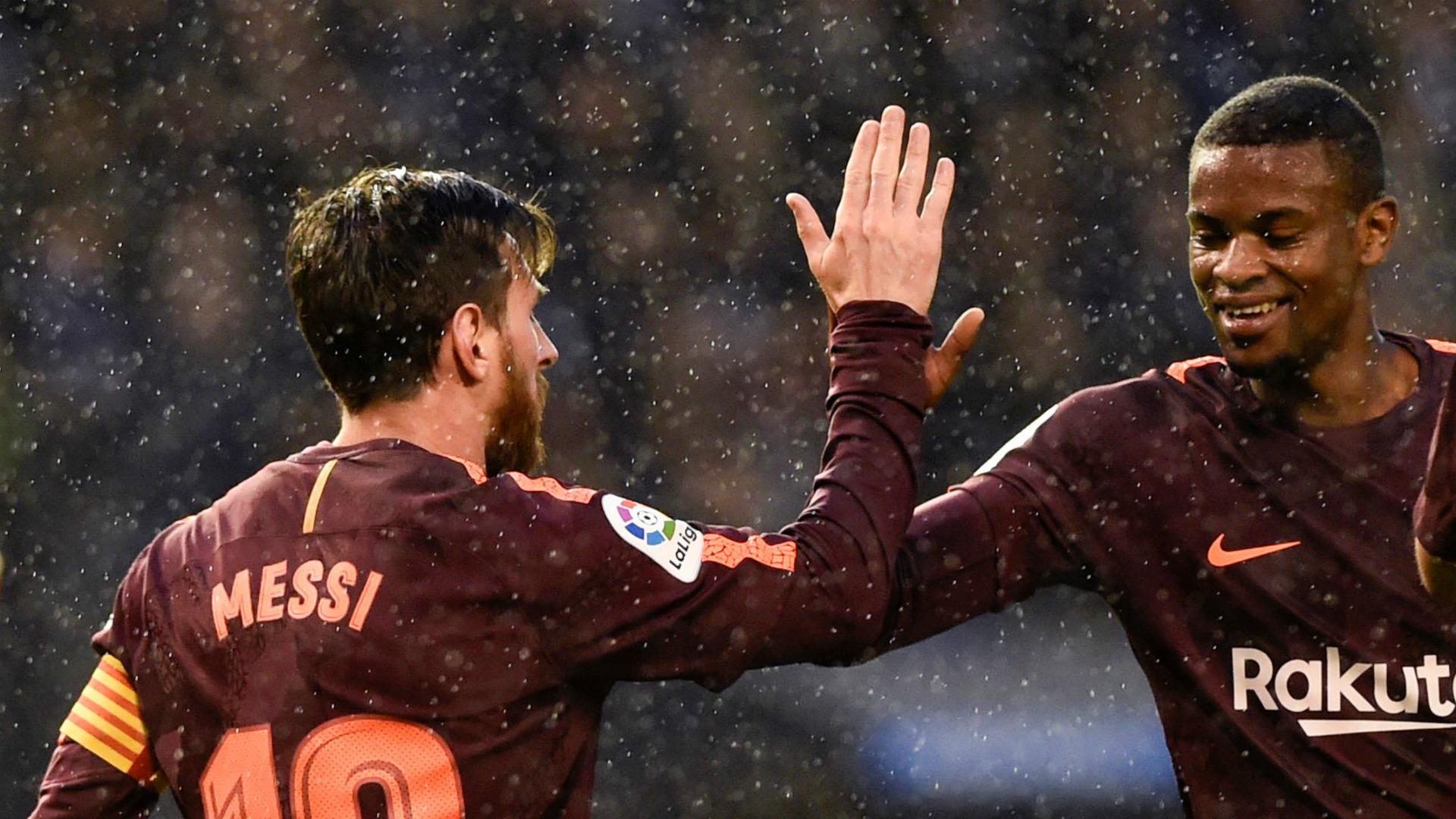 Semedo Messi Barcelona