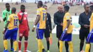 KCCA FC of Uganda v African Stars of Namibia.