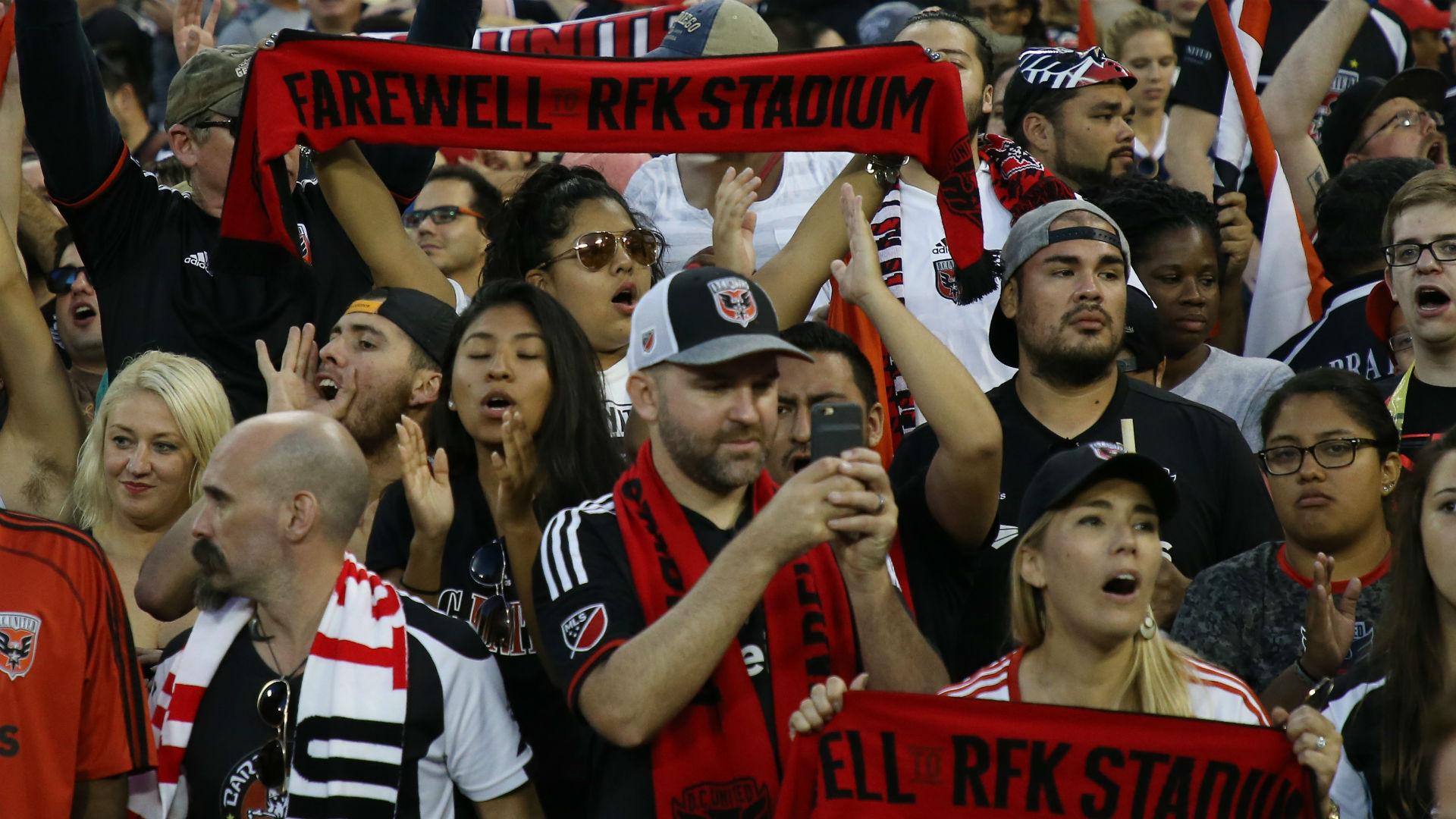 D.C. United fans MLS