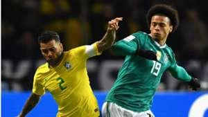 Dani Alves Leroy Sane Brazil Germany