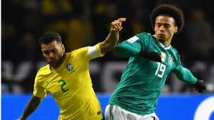 Dani Alves Leroy Sane Brazil Germany