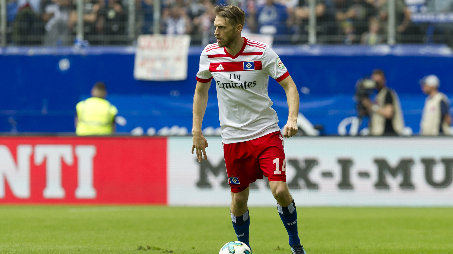 Aaron Hunt Hamburger SV HSV 12052018