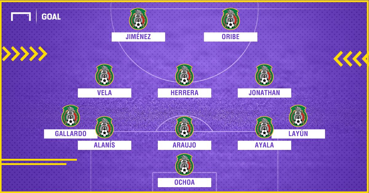 XI México vs Honduras