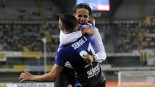 Sergej Milinkovic-Savic Simone Inzaghi Lazio